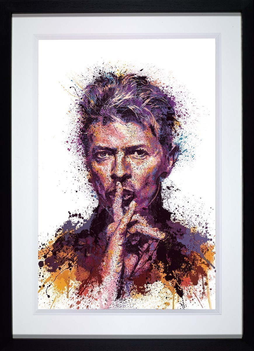 She Says Shhhh by Daniel Mernagh - Limited Edition on Paper sized 20x30 inches. Available from Whitewall Galleries